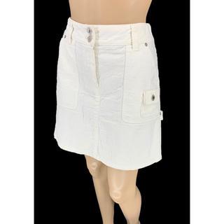 ルイヴィトン(LOUIS VUITTON)のLOUIS VUITTON☆ ミニスカート モノグラム LV ホワイトデニム(ミニスカート)