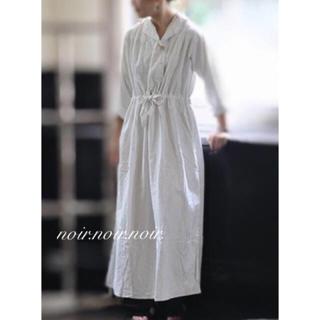 未使用 白 ロングワンピース  羽織り フルレングス ドレス トールサイズ