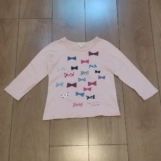 ハッシュアッシュ(HusHush)の女の子 ロンティー サイズ100(Tシャツ/カットソー)