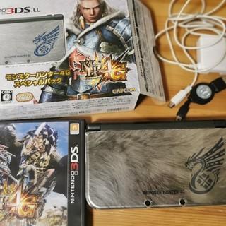 任天堂 - newニンテンドー3DS LL モンハン4G限定 本体 3DSLL