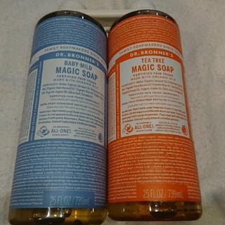 Magic Soap - ドクターブロナー マジックソープ 739ml オーガニックソープ ×2