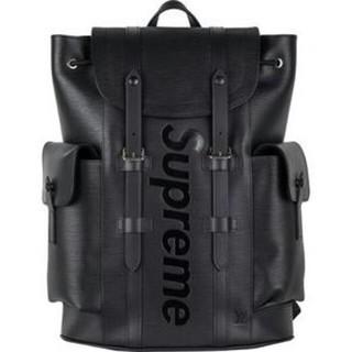 LOUIS VUITTON - 黒 Louis Vuitton x Supreme リュック