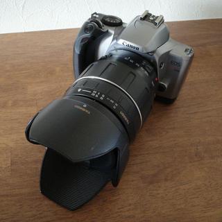 キヤノン(Canon)の【レンズセット】TAMRON28mm-300mm+EOS Kiss Lite(フィルムカメラ)
