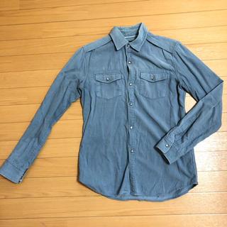 コムサイズム(COMME CA ISM)のコムサ  コーデュロイシャツ(シャツ)