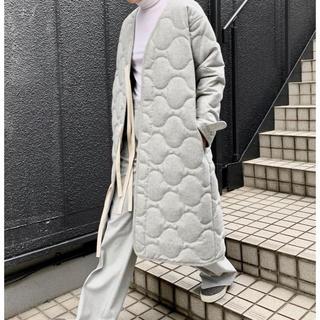 マディソンブルー(MADISONBLUE)のマディソンブルー オーバーサイズ キルティングコート(ミリタリージャケット)