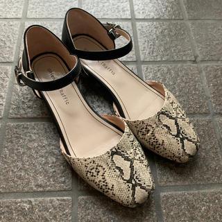 オリエンタルトラフィック(ORiental TRaffic)のパイソン柄 靴(ハイヒール/パンプス)