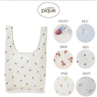 gelato pique - 【1番人気♡】ジェラートピケ エコバッグ ストロベリー 《新品》