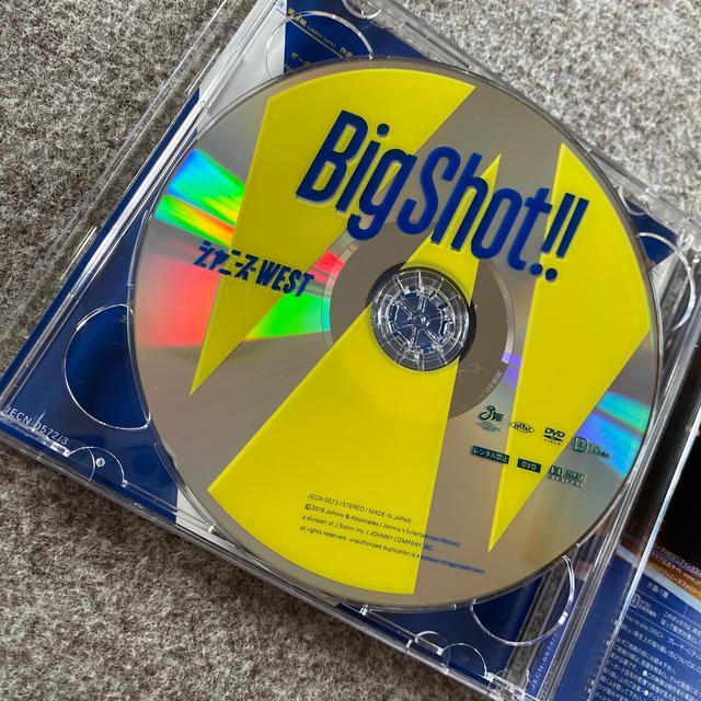 ジャニーズWEST(ジャニーズウエスト)のBig Shot!! エンタメ/ホビーのタレントグッズ(アイドルグッズ)の商品写真