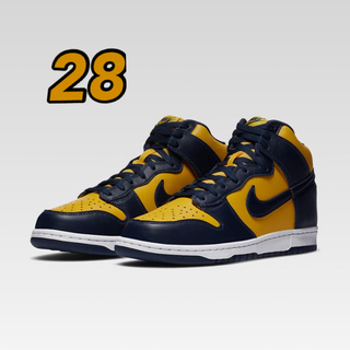 NIKE - NIKE「DUNK HI SP MICHIGAN」