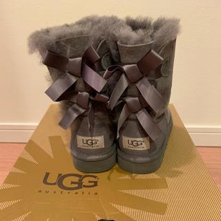 アグ(UGG)の9月中だけ値下げ!美品 UGGリボンムートンブーツ 20cm(ブーツ)