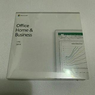 マイクロソフト(Microsoft)のoffice Home & Business 2019 正規品【新品未開封】(PC周辺機器)