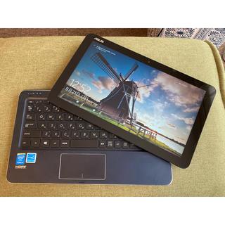 エイスース(ASUS)の2in1ノートPC ASUS TransBook T300CHI-5Y10S(ノートPC)