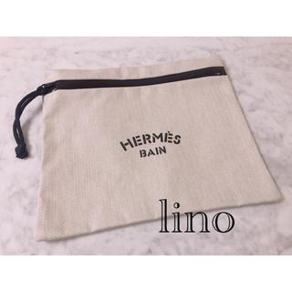 エルメス(Hermes)の美品 エルメス HERMES ポーチ フラットポーチ BAIN クラッチバッグ(ポーチ)