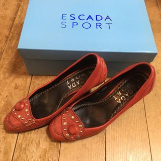エスカーダ(ESCADA)のSale90%オフ★エスカーダスポーツ  パンプス36サイズ(ハイヒール/パンプス)