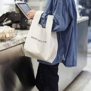 ディーンアンドデルーカ(DEAN & DELUCA)の【新品・未使用】DEAN & DELUCA ミニマムエコバッグ ホワイト(エコバッグ)