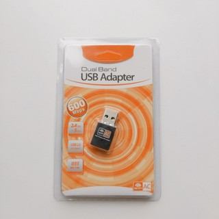 ワイヤレスLANアダプター 無線LAN子機 USB  WiFi デュアルバンド