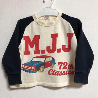 ムージョンジョン(mou jon jon)のmoujonjon トレーナー 100センチ/クラシックカー(Tシャツ/カットソー)