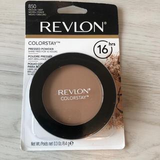 レブロン(REVLON)の未使用 レブロン プレストパウダー、850ミディアム/ディープ、8.4 g(フェイスパウダー)