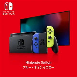 Nintendo Switch - 任天堂 スイッチ本体 限定色 新品未開封