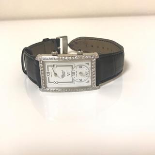 ショパール(Chopard)のショパール 時計 ダイヤベゼル ホワイトゴールド WGケース(腕時計)