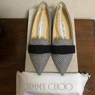 ジミーチュウ(JIMMY CHOO)の未使用品❗️Jimmy choo ❤️フラットシューズGALA 34サイズ(バレエシューズ)