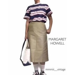 マーガレットハウエル(MARGARET HOWELL)のMARGARET HOWELL マーガレットハウエル ロング スカート  チノ(ロングスカート)