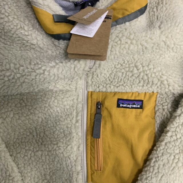 patagonia(パタゴニア)のpatagonia パタゴニア レトロ  イエロー メンズのジャケット/アウター(ブルゾン)の商品写真