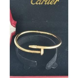 Cartier - 極美品!カルティエCartier ブレスレット 17cm 刻印 男女兼用
