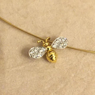 美品 ギメル gimel 蜂 チョーカー ネックレス
