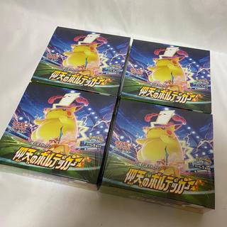 ポケモン(ポケモン)のポケモンカードゲーム 仰天のボルテッカー 4BOX 未開封 シュリンク付(Box/デッキ/パック)