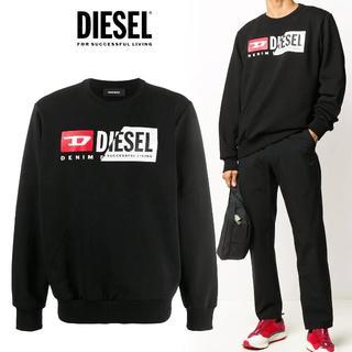 ディーゼル(DIESEL)の12 DIESEL ブラック スウェット トレーナー size XXL(スウェット)