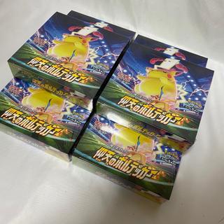 ポケモン(ポケモン)のポケモンカードゲーム 仰天のボルテッカー 6BOX 未開封 シュリンク付(Box/デッキ/パック)