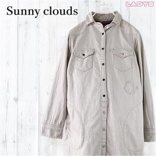 nest Robe - Sunny clouds ヘビーオンス ウエスタン ロング シャツ ワンピース