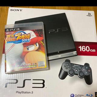 プレイステーション(PlayStation)のプレステ3とパワフルプロ野球2013セット(家庭用ゲーム機本体)