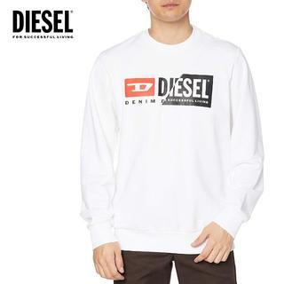 ディーゼル(DIESEL)の13 DIESEL ホワイト スウェット トレーナー size S(スウェット)