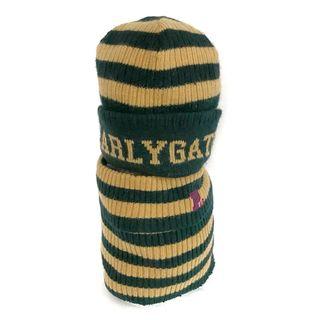 パーリーゲイツ(PEARLY GATES)のパーリーゲイツ ニット帽 ボーダー(ニット帽/ビーニー)