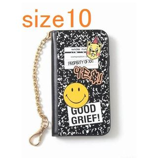 ドゥーズィエムクラス(DEUXIEME CLASSE)の新品GOOD GRIEF! SMILE patched iphone cover(iPhoneケース)