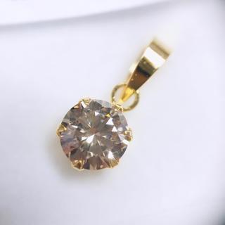 K18YG ペンダントトップ ダイヤモンド 0.45ct AANI アニ