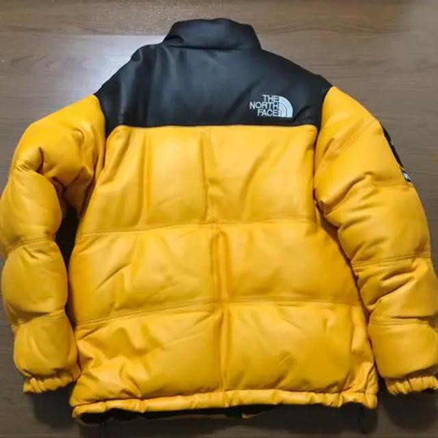 Supreme(シュプリーム)のthenorthface ×supreme leather nuptse メンズのジャケット/アウター(ダウンジャケット)の商品写真