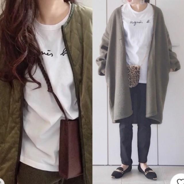 agnes b.(アニエスベー)のアニエスベー Tシャツ Lサイズ レディースのトップス(Tシャツ(半袖/袖なし))の商品写真