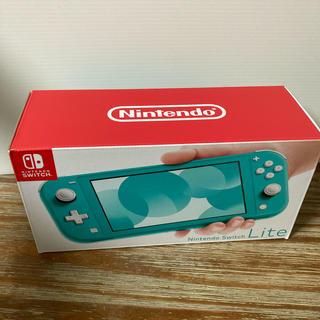 ニンテンドースイッチ(Nintendo Switch)のNintendo Switch NINTENDO SWITCH LITE ター…(携帯用ゲーム機本体)