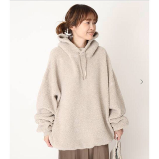 ドゥーズィエムクラス(DEUXIEME CLASSE)のDeuxieme Classe adorable hoodie フーディ(パーカー)