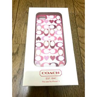 コーチ(COACH)のiPhone5 ケース COACH(iPhoneケース)
