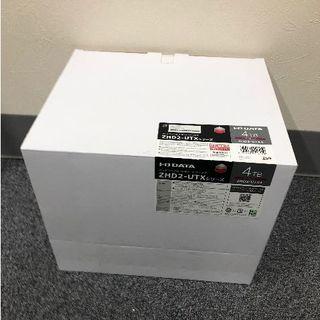 アイオーデータ(IODATA)のZHD2-UTX4 カートリッジ式2ドライブ外付ハードディスク(PC周辺機器)