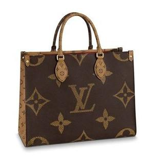 LOUIS VUITTON - 【Louis Vuitton】オンザゴーMMジャイアントモノグラム