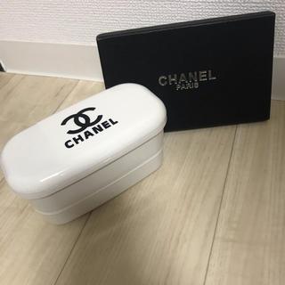 シャネル(CHANEL)のラスト2点! CHANEL ノベルティ  弁当箱 白(弁当用品)