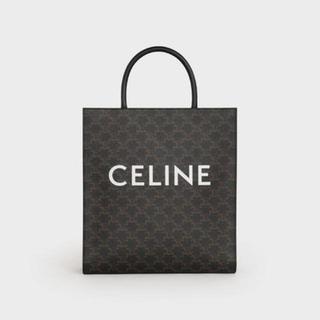 celine - CELINE ミディアム バーティカル カバ / CELINEプリント入り