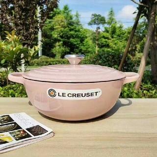 ルクルーゼ(LE CREUSET)の鋳鉄フレンチエナメルポットスープポット(容器)