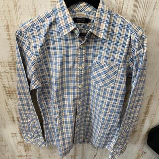 バーバリーブラックレーベル(BURBERRY BLACK LABEL)のBURBERRY  BLACK LABEL   バーバリー シャツ イエロー(ポロシャツ)
