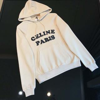 celine - CELINE スウェット プルオーバー パーカー